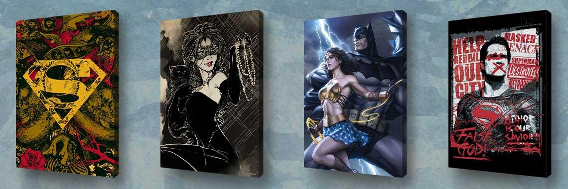 DC Comics - Slike na platnu