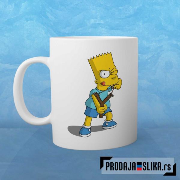 Bart Simpson šolja