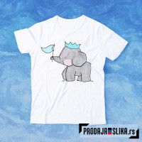 Slonče sa zastavicom