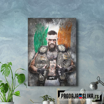 Conor McGregor UFC Double