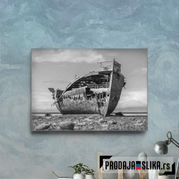 A Rusty Shipwreck