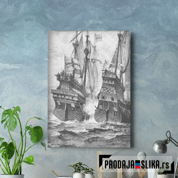 British Navy Vs Pirates