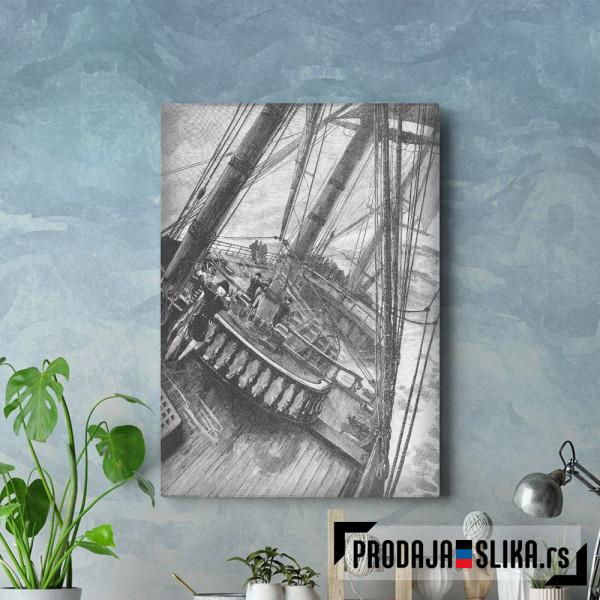 Man of War Ship Deck