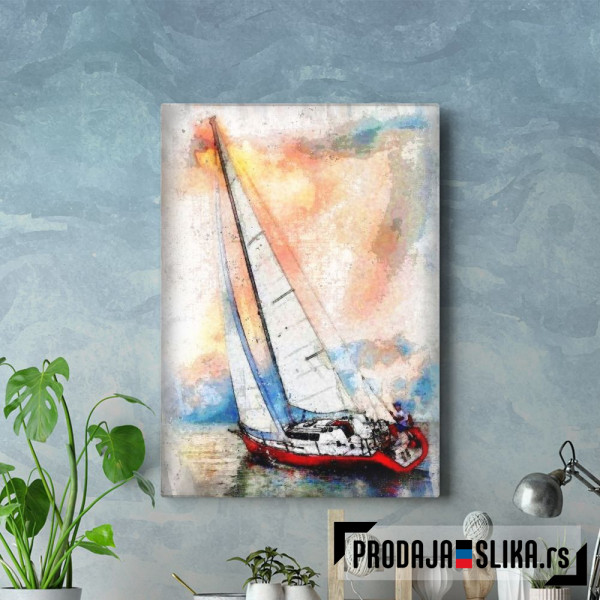 Sailing With The Wind
