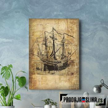 Vintage Sailboats Ships