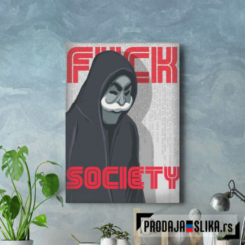 FSociety Mr Robot art