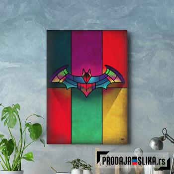 Batman amblem mozaic