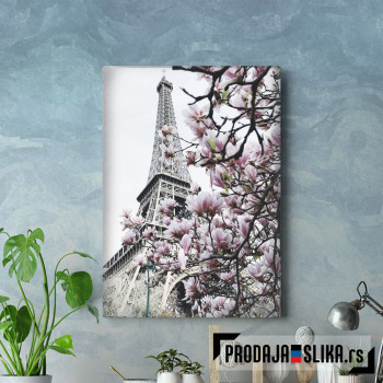 Ajfelova kula i cveće