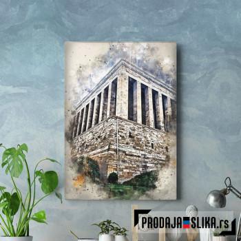 Ankara in Watercolor
