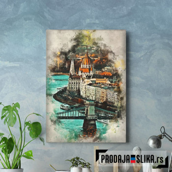 Budapest in Watercolor