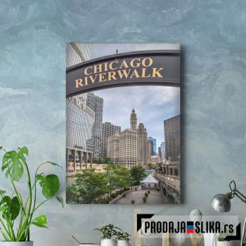 Cikago riverwalk
