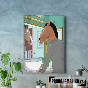 Bojack in the mirror