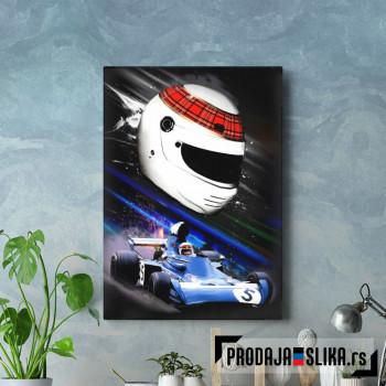 Jackie Stewart F1 Painting
