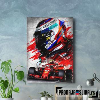 Kimi Raikkonen Iceman F1