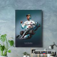 Lewis Hamilton Low Poly