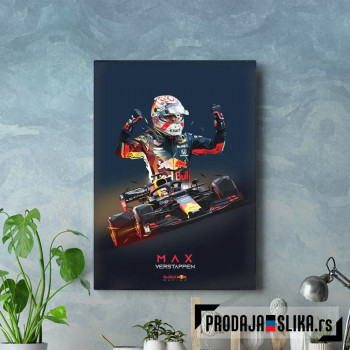 Max Verstappen Low Poly
