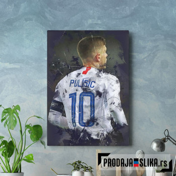Christian Pulisic 2 abstract