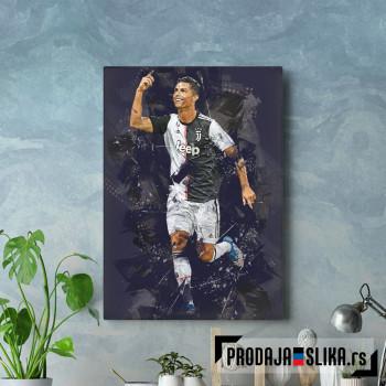 Cristiano Ronaldo 2 abstract