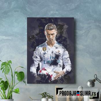 Cristiano Ronaldo 3 abstract