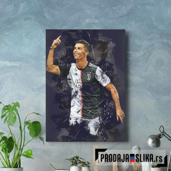 Cristiano Ronaldo abstract