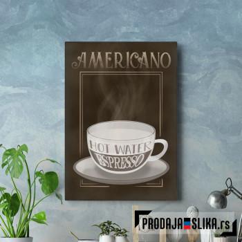 Americano Coffee Sign