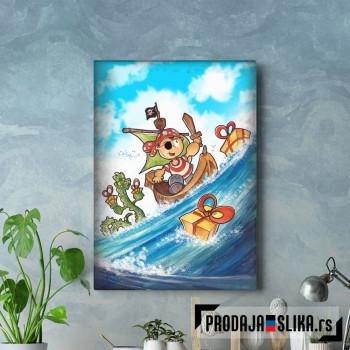 Pirate Kid Sea Adventure