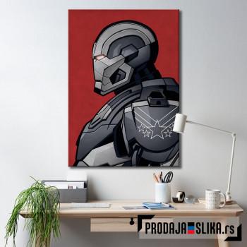 Rhodey War Machine - profil