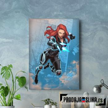 Black Widow cartoon