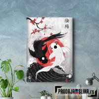 Koi Fish Yin Yang - RubyAr