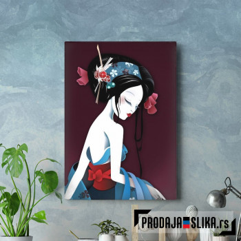 Asian Geisha Love