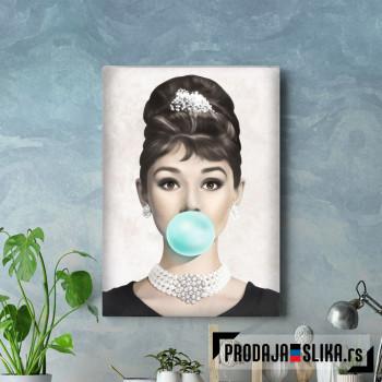 Audrey Hepburn Gum