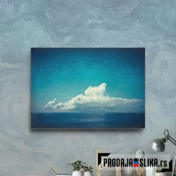 Big Cloud Over The Indic Ocean