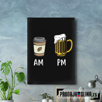 AM PM Beer
