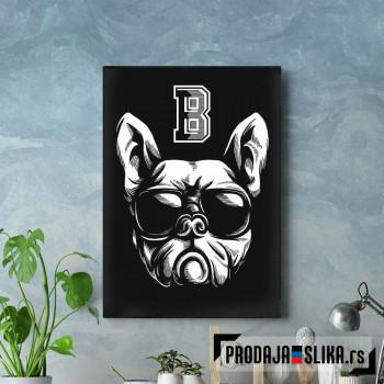 Bulldog retro