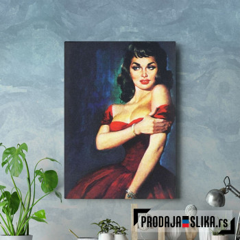 Girl in Red Pulp