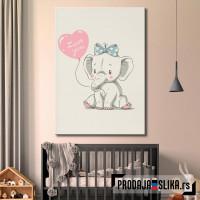 Zaljubljeno slonče