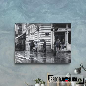 Kiša U Knez Mihailovoj