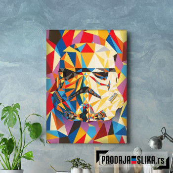 Abstract Stormtrooper
