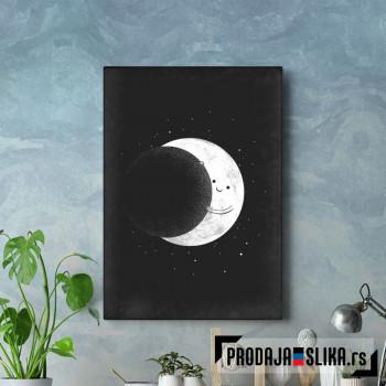 Mesec se sakriva