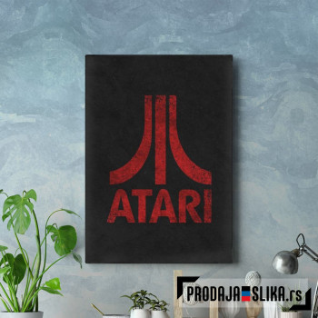 Atari Classic red
