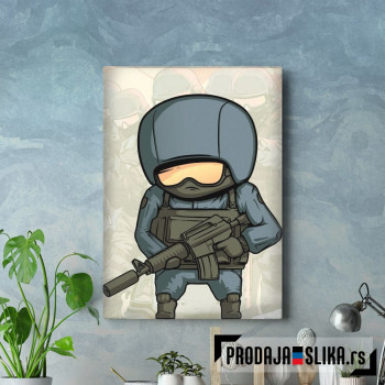 Counter Strike charicature