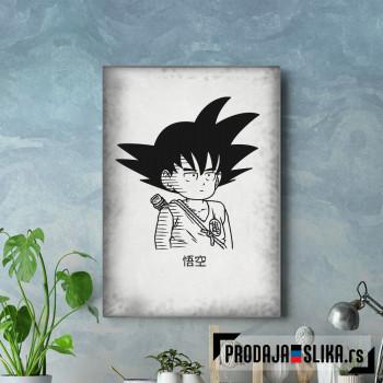 Goku black and white