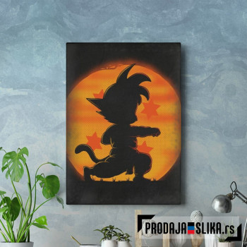 Goku by night
